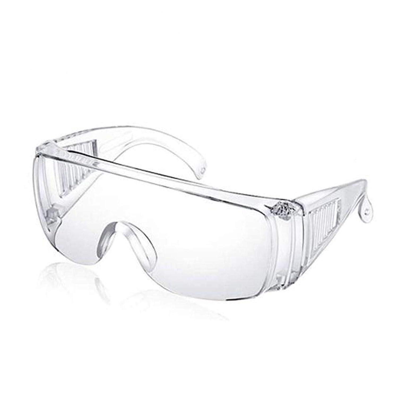applemi 2 Pcs Gafas De Seguridad, Antivaho, PrevencióN De La Saliva, Gafas Protectoras, Resistentes A Los ArañAzos, Gafas Transparentes Para Uso MéDico, De Laboratorio,Personal O Profesional