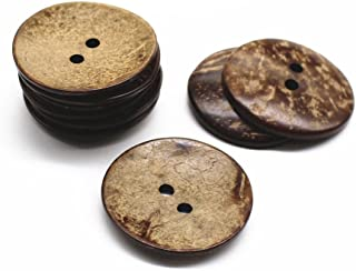 large shell buttons