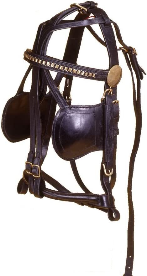 Attention brand Tough-1 Mini Black Bridle Philadelphia Mall Replacement Leather
