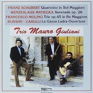 Serenade Op. 26/Trio Op. 45/La Gazza Ladra by Wenzeslaus,Molino,Francesco,Carulli,Ferna Matiegka (1995-08-22)