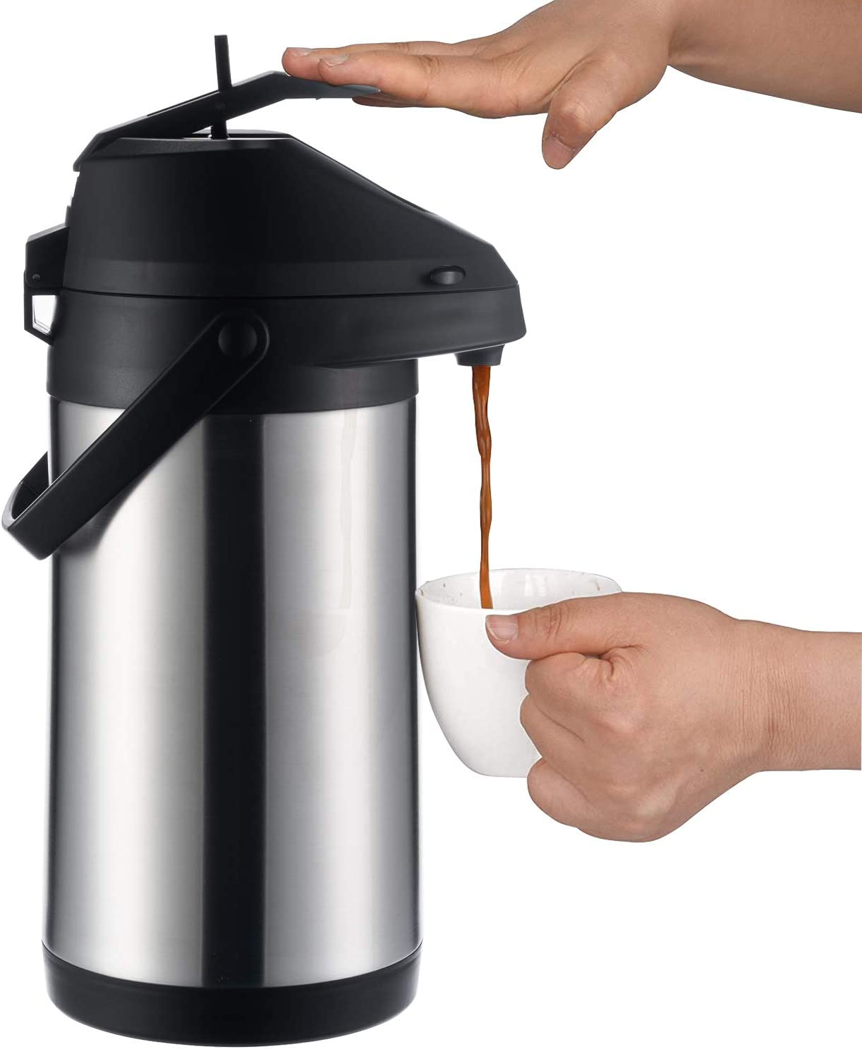 Tampa Mall PARACITY Thermal Coffee Carafe with 3 Stainless Stee 100 oz Cups Gifts