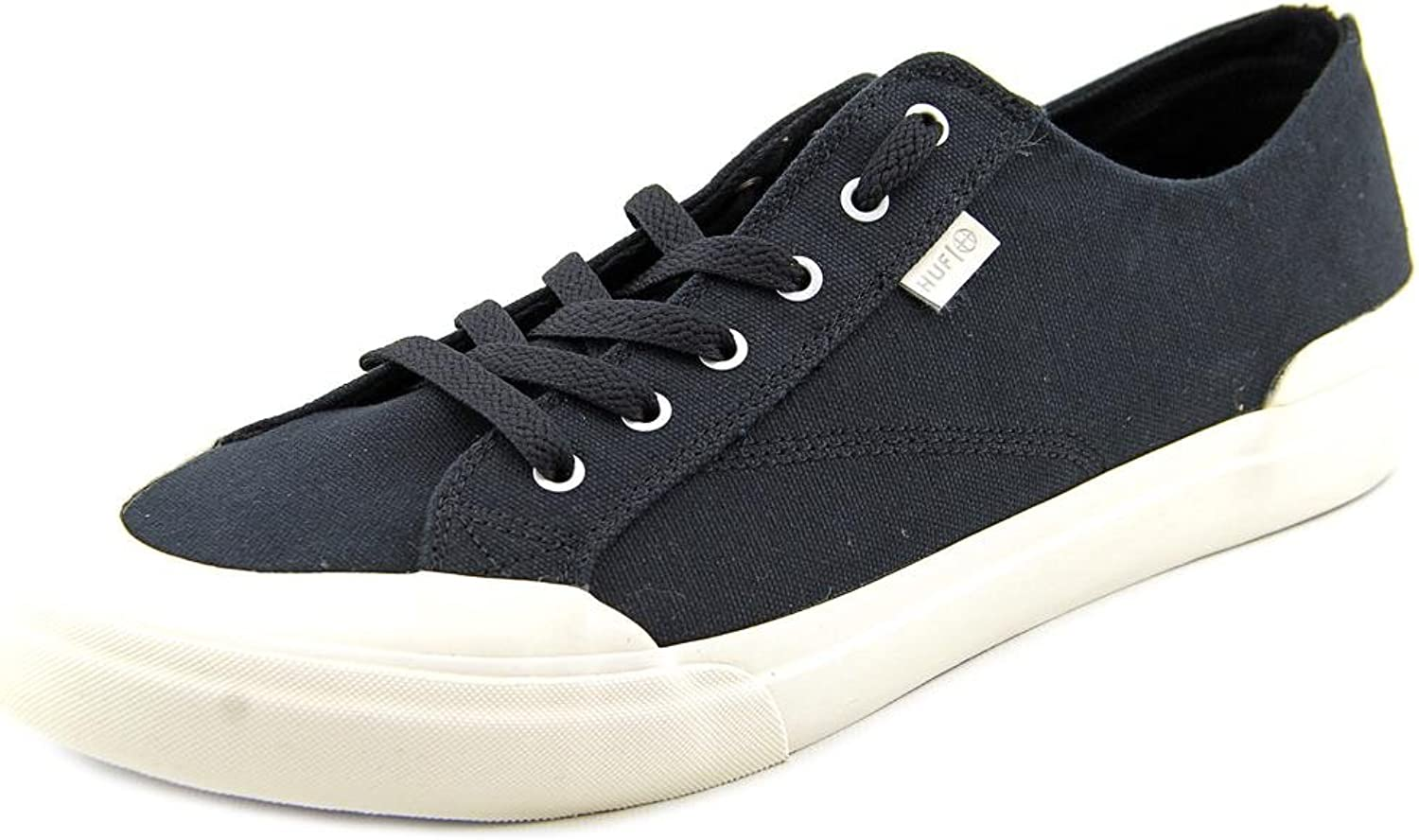 Huf Classic Lo Mens Black Canvas Lace Up Sneakers shoes 12