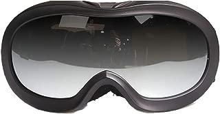 Aooaz Children'S Outdoor Sports Ski Goggles Plated Anti Fog Ski Goggles Coca Glasses