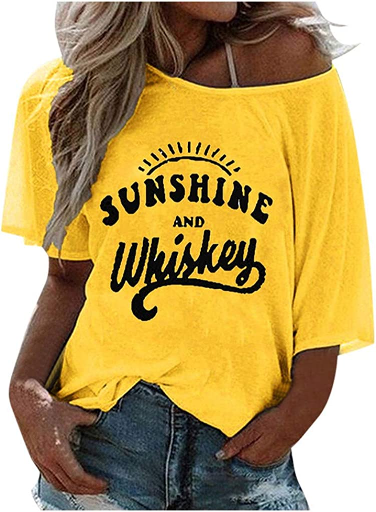 Womens T Max 78% OFF Shirts Short Sleeve Graphic Tees Fre Vintage Super sale period limited Heart Wild