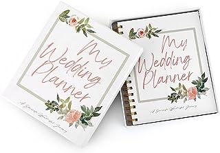 $24 » Wedding Planner Book and Stickers Wedding Organizer Engagement Wedding Scrapbook Diary Engagement Gift Book & Calendar