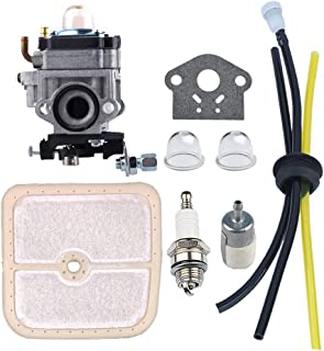 HIPA WYK-186 Carburetor with Air Filter Fuel Tune-Up Kit for ECHO HCA260 HCA261 PE260 PE261 PPT260 PPT261 SHC260 SHC261 SRM260 SRM261 Trimmer