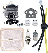 HIPA WYK-186 Carburetor with Air Filter Fuel Tune-Up Kit for ECHO HCA260 HCA261 PE260 PE261 PPT260 PPT261 SHC260 SHC261 SRM260 SRM261 Trimmer