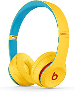Trådlösa Beats Solo3  on-ear-hörlurar – Apple W1-chippet, Class 1 Bluetooth, 40 timmars lyssning - Club Yellow