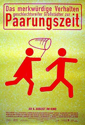 Das Merkwürdige Verhalten geschlechtsreifer Großstädter zur Paarungszeit (1997) | original Filmplakat, Poster [Din A1, 59 x 84 cm]