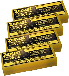 Zerust VC2-2 NoRust Vapor Capsule - Pack of 4