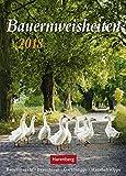 Bauernweisheiten - Kalender 2018 - Harenberg-Verlag - Wochenkalender mit Bauernregeln - 16,5 cm x 23 cm