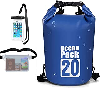 E&P Waterproof Dry Bags Beach Storage Bag Boating Kayaking Snowboarding Rafting Canoe Accessory Camping Fishing Gear Outdo...