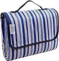 Exclusivo Mezcla携帯用のピクニックブランケット 戸外用 防水 ラージサイズ キャンピングマット 折り畳み 防砂 ビーチブランケット