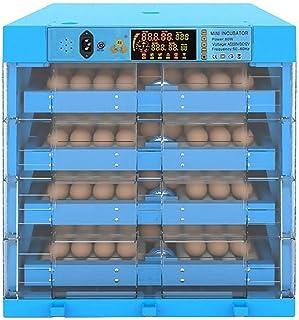 XUSHEN-HU インキュベータ 孵化器 鳩ウズラの温度制御ダック256Eggsデジタル大ファーム家禽ハッチャーハッチング鶏を回す卵インキュベーター自動