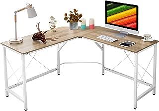 """Mr IRONSTONE L-Shaped Desk 59"""" Computer Corner Desk, Home Gaming Desk, Office.."""