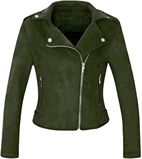 332706ff1 Amazon.com: Greens - Leather & Faux Leather / Coats, Jackets & Vests ...