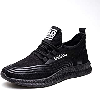 QYQ Men's Shoes, Lightweight Non-Slip Gym Athletic Sneakers, Breathable Sport Causal Shoes