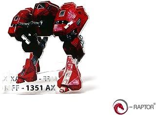 e-Raptor- Gioco da Tavolo Dice Tower Mff Mech, Colore Rosso, ERA19080