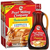 Peal Milling Company Pearl, Syrup & Mix Combo