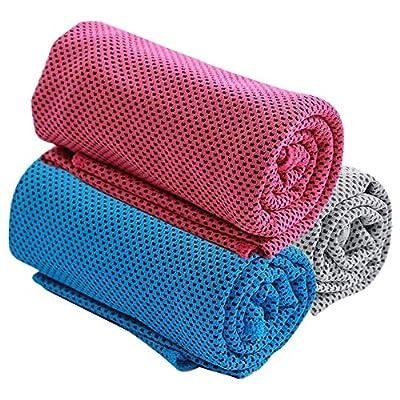 Handtücher 3er Pack Kühltuch-100
