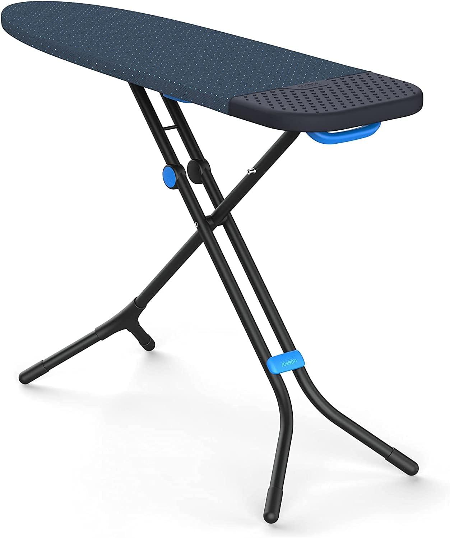 Joseph Joseph Tabla de Planchar fácil de Guardar Glide Plus con Funda Avanzada, Negro/Azul, Una Talla