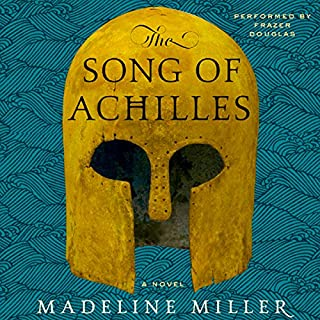The Song of Achilles     A Novel              Written by:                                                                                                                                 Madeline Miller                               Narrated by:                                                                                                                                 Frazer Douglas                      Length: 11 hrs and 15 mins     280 ratings     Overall 4.6