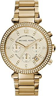 Michael Kors MK5354 Classic Analog Watch with Chronograph Dial for Women