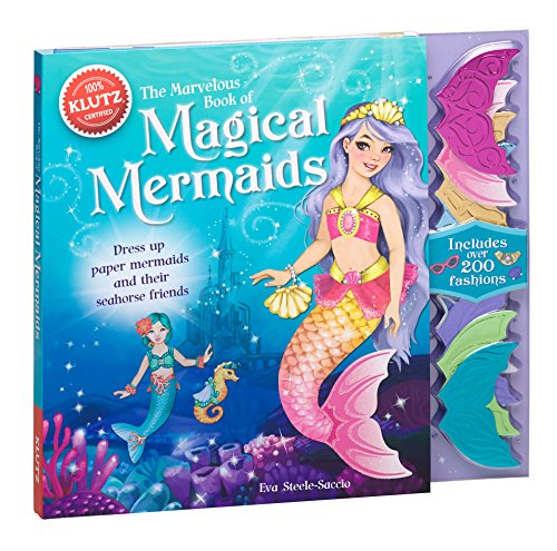 Klutz The Marvelous Book of Magical Mermaids Activity Kit