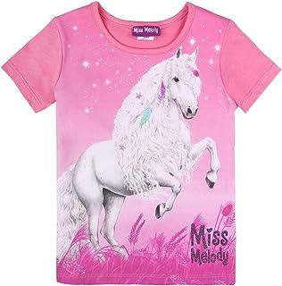 Miss Melody niñas T-Shirt, Camiseta, Pink