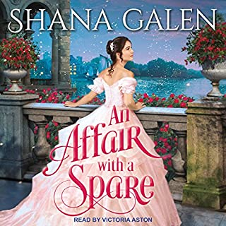 An Affair with a Spare     Survivors Series, Book 3               Written by:                                                                                                                                 Shana Galen                               Narrated by:                                                                                                                                 Victoria Aston                      Length: 10 hrs and 15 mins     Not rated yet     Overall 0.0