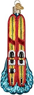 Old World Christmas 44129 Ornament, Water Skis