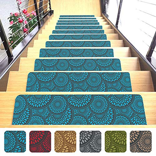 Shape28 Stair Mats Ultra-Thin with Slip-Resistant...