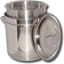 King Kooker KK44SR Ridged Stainless Steel Pot, 44-Quart
