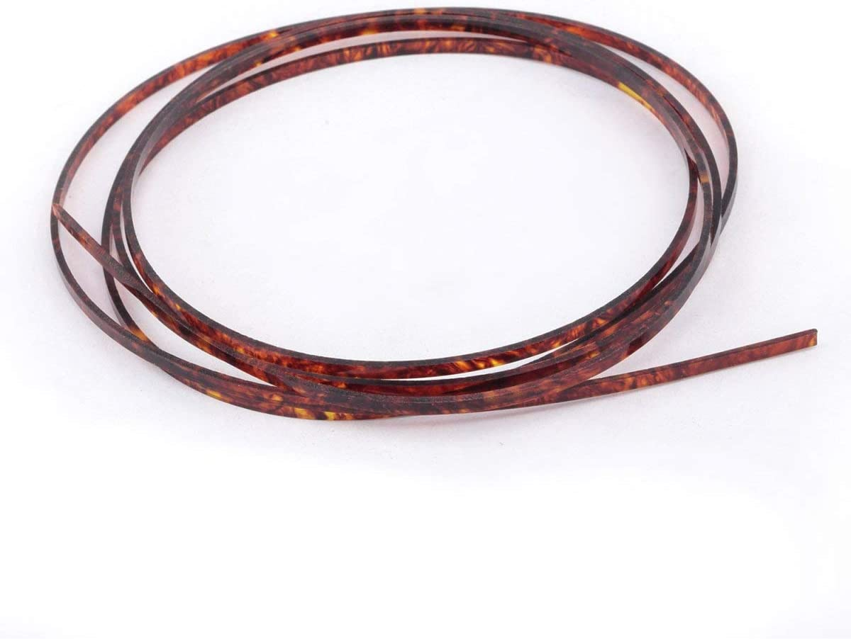 Musiclily Factory outlet 1650x3x1.5mm Plastic Binding for Purfling Acoust Strip Max 83% OFF