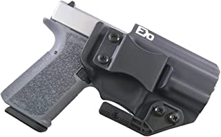 FDO Industries -Formerly Fierce Defender- IWB Kydex Holster Polymer 80 Compact -Optic Cut- (PF940C) (19/23) -The Paladin Series -Made in USA-