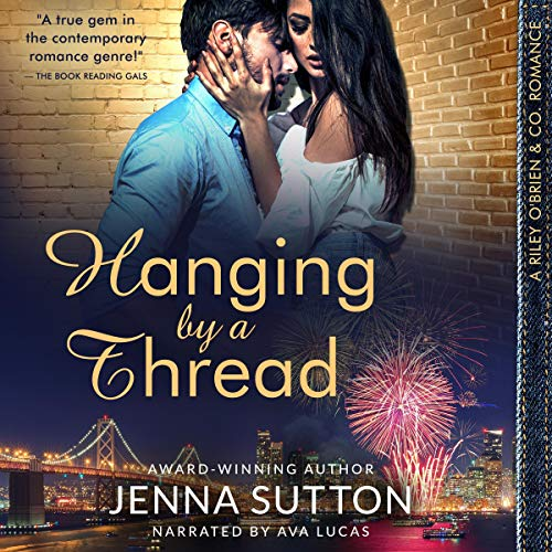 Hanging by a Thread audiobook cover art