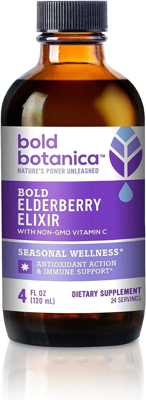 Gifts Bold Botanica Elderberry Elixir - Black El 65x Superlatite Concentrated