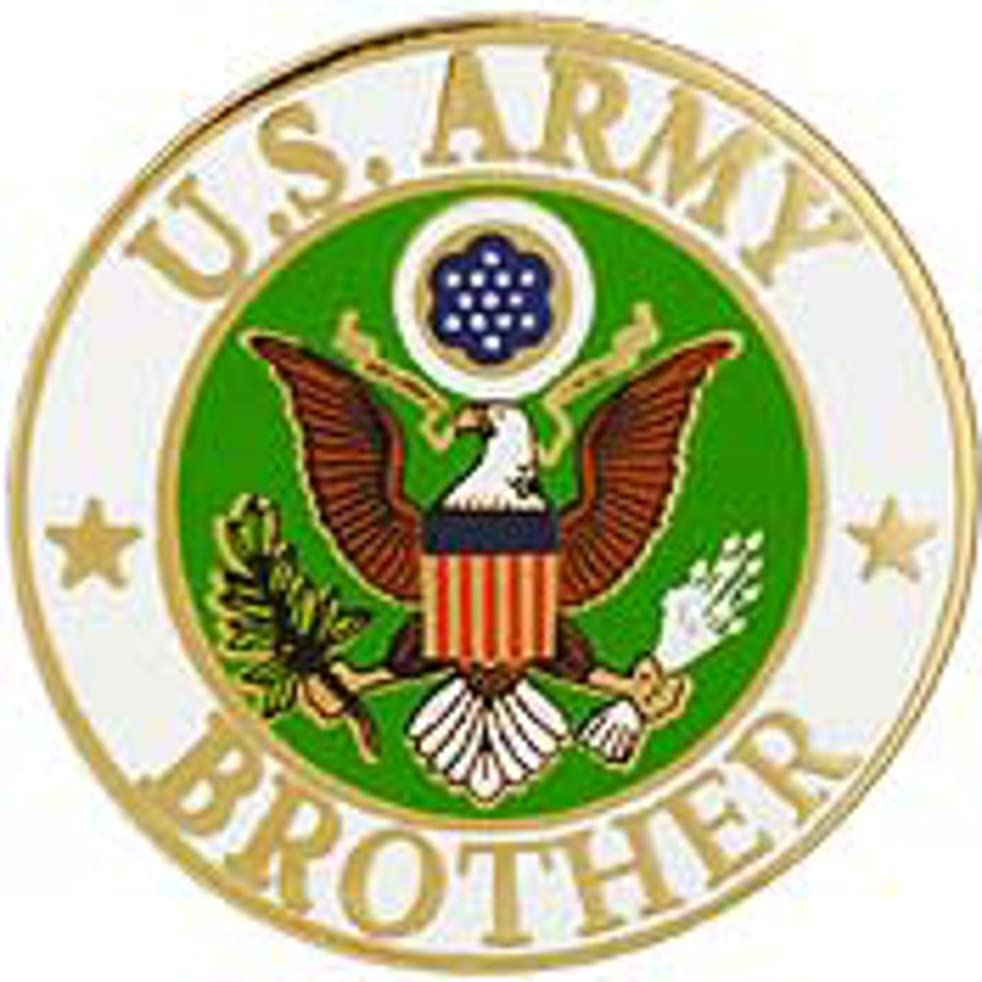 EagleEmblems P64036 Pin-Army,Brother ''Dog Tag'' (1.25'')