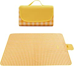 """Picnic Blanket, Foldable Outdoor Mat 79 * 75"""" Large Size Waterproof and Sandproof Picnic Mat Beach Mat for Camping Hiking ..."""