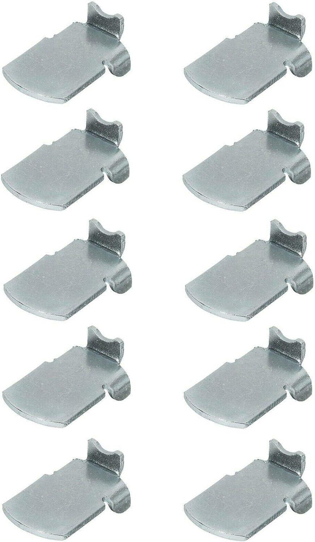 cyclingcolors Classic 10x Shelf Support Milwaukee Mall pins pegs Strip Brac Studs Steel