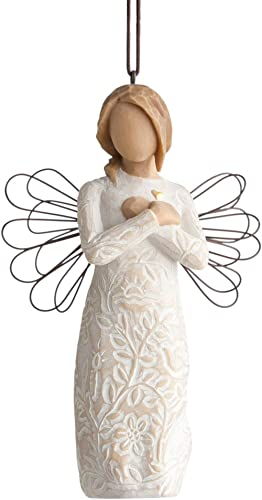 Willow Tree Remembrance Ornament, Sculpted Hand-Painted Figure