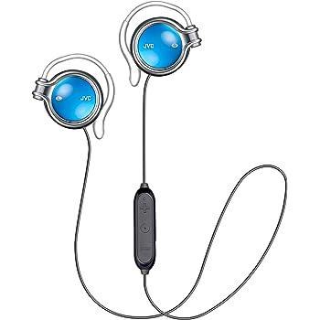 JVC HA-AL102BT-A ワイヤレスイヤホン 耳掛け式/Bluetooth/高音質 ブルー