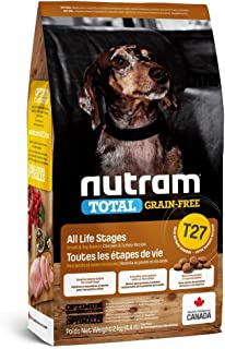 Nutram T27 Total Grain-Free Small Breed Chicken & Turkey Dog Food, 2kg