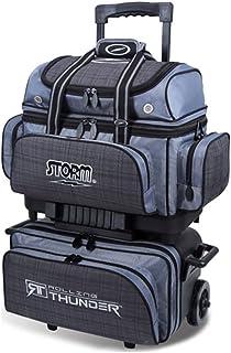 MICHELIN Storm Bowling Products 4 Ball Rolling Thunder Bowling Bag- Plaid/Gray/Black