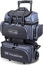 Storm Bowling Products 4 Ball Rolling Thunder Bowling Bag- Plaid/Gray/Black