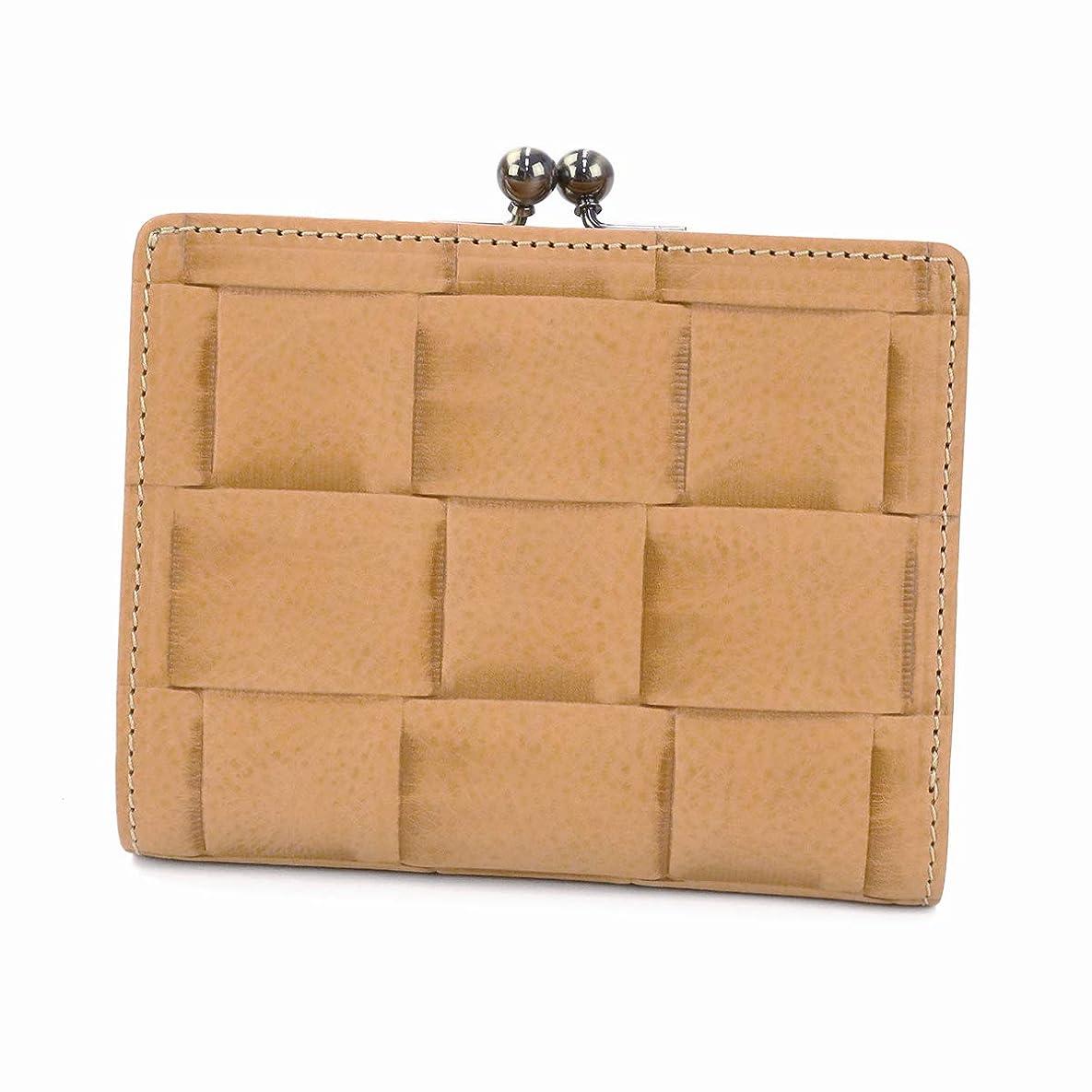 石の従順自動[アルベロ] 二つ折り財布 本革 マットーニ 4450 レディース