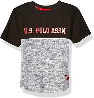 U.S. POLO ASSN. boys Cut and Sew Graphic Fashion Shirt T-Shirt