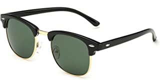Arctic Star® half frame brand sunglasses retro sunglasses