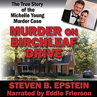 Murder on Birchleaf Drive audiobook cover art