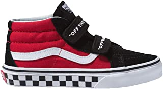 Vans Boys Kids Logo Sk8 Mid Reissue V Skate Shoes